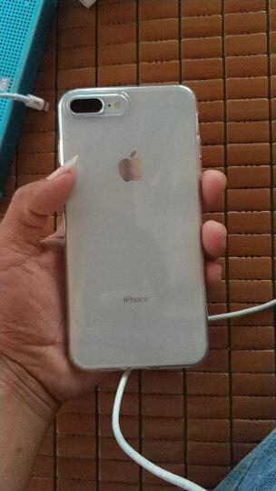 亿色(ESR)苹果7&8 Plus手机壳 iPhone7 plus&8 Plus手机壳 5.5英寸手机套 透明轻薄硅胶防摔软壳 初色零感 黑 晒单图