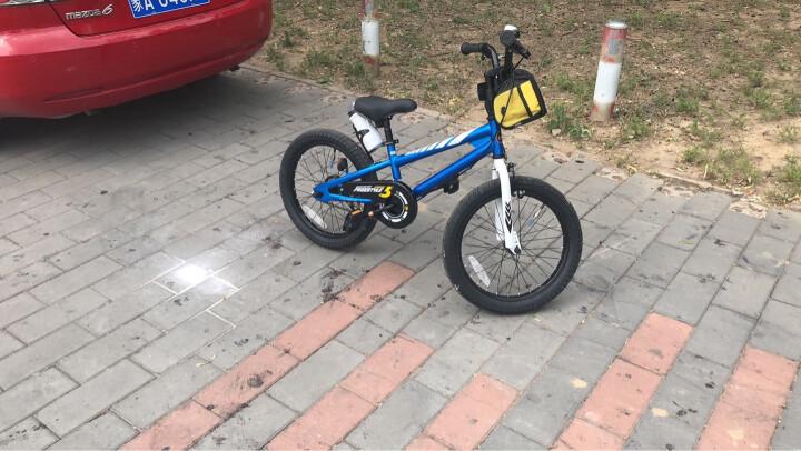优贝(RoyalBaby) 儿童自行车14寸16寸12/20/18寸男女童表演车单车 蓝色 18寸 晒单图