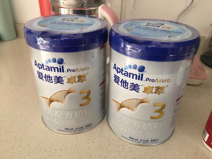 爱他美(Aptamil) 卓萃儿童配方调制乳粉(36—72月龄,4段) 900g 晒单图