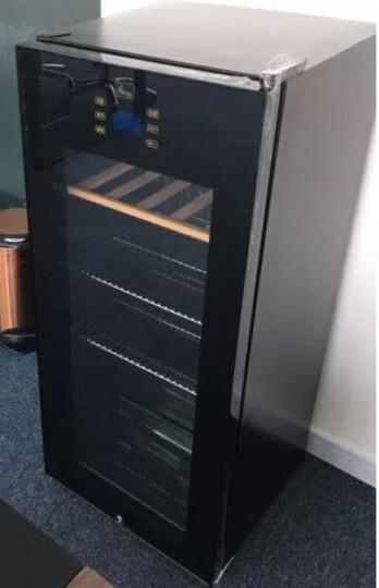 蒂朵(Diduo) BXW-408电冰箱办公室小型透明玻璃单门家用卧室酒店商用恒温保鲜冷藏茶叶柜冰吧 晒单图