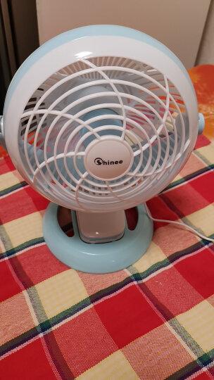 赛亿(Shinee)小风扇 台式落地夹扇、壁扇  迷你静音车载换气电风扇 学生宿舍床头扇FTB6-01 晒单图