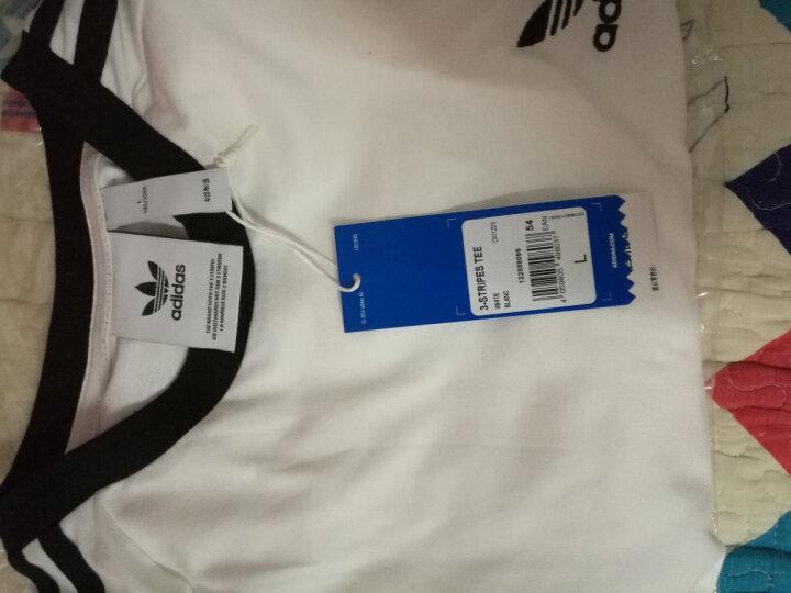阿迪达斯三叶草短袖男装2020夏季新款半袖大码宽松运动T恤CW0709 AJ8828 L(185/108A) 晒单图