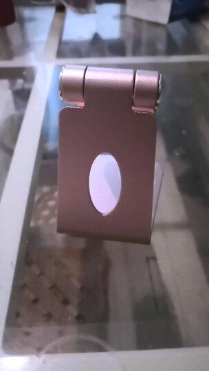 技光(JEARLAKON)桌面手机支架 多功能ipad平板支架 桌面可调节懒人直播床头支架折叠 苹果华为通用手机架 晒单图