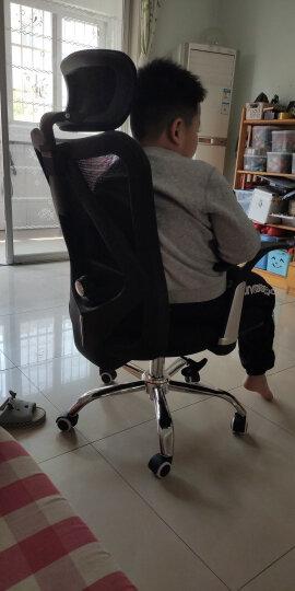 西昊(SIHOO) 人体工学电脑椅子 老板椅 家用座椅转椅 电竞椅 撑腰办公椅 M16 弓形脚 晒单图
