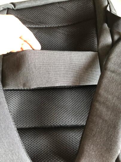 小米极简都市双肩包 休闲商务笔记本电脑包14英寸 男女书包双肩背包 深灰色 晒单图