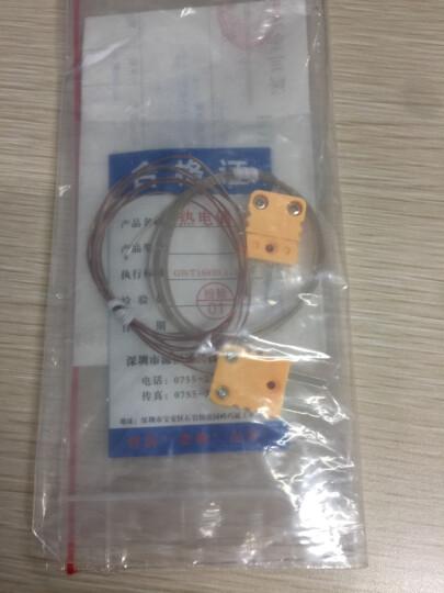 K型热电偶感温线纤维482度耐高温炉温线-200低温传感器点状式空气测温线通用于K型温度表 0.254mm铁氟龙-200~260℃(1米单价) 晒单图