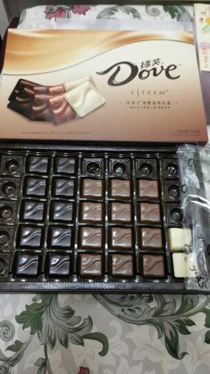 德芙 Dove ESTEEM埃斯汀巧克力美味之旅 婚庆糖果零食262g(本产品不含礼品袋) 晒单图