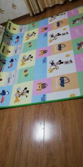 迪士尼DISNEY 宝宝爬行垫爬爬垫 防滑地垫游戏毯 2米*1.8米 双面1cm 晒单图