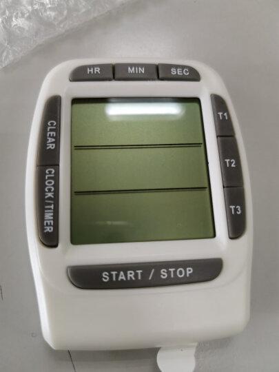 追日计时器 99小时三通道倒计时器 厨房定时器 正计时器 提醒器 白色 晒单图