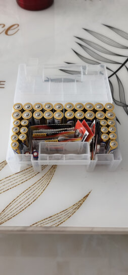 日本麦克赛尔(Maxell)5号电池20粒+7号电池14粒碱性电池干电池混合装34粒 另送家庭收纳盒 晒单图