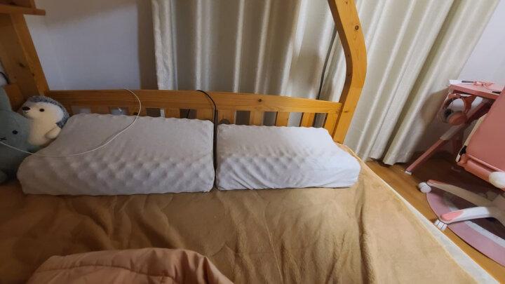 睡眠博士(AiSleep)枕芯 椰梦泰国进口人体工学成人天然乳胶枕 波浪形颈椎舒睡枕头 透气柔弹 晒单图
