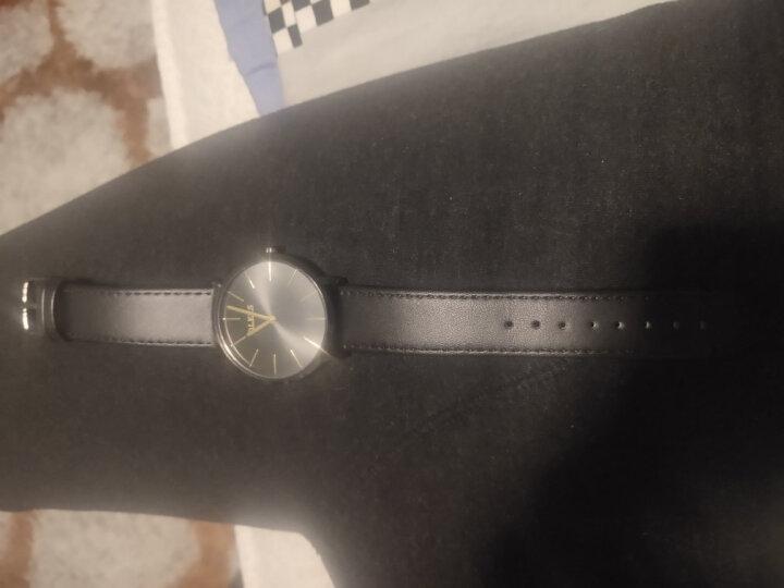 欧利时(OLEVS)进口机芯手表 男简约石英表超薄防水男士手表女表 单个价时尚潮流学生表男表情侣对表 黑皮黑壳黑面男表 晒单图