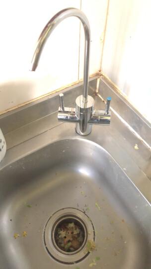 美的出品华凌净水器MRC1593-50G家用直饮厨房反渗透净水机RO反渗透双出水纯水机 晒单图