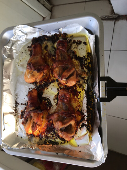 格兰仕(Galanz)家用电器多功能电烤箱30升旋转烤叉专业烘焙烘烤蛋糕面包KWS1530X-H7R 晒单图