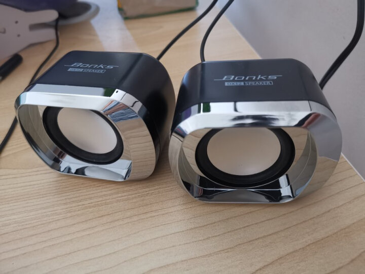 前行者(EWEADN) 笔记本有线小音响家用台式机电脑电视usb桌面迷你有源 小夜灯闹钟蓝牙音箱(精致白) 晒单图