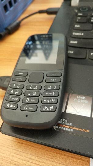 诺基亚(NOKIA)新105 白色 直板按键 移动联通2G手机 老人手机 学生备用功能机 晒单图