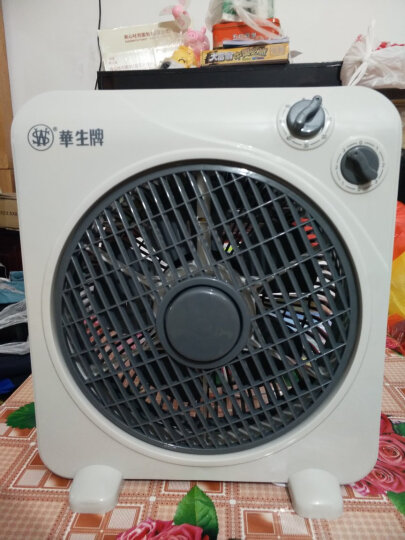 华生(Wahson)电风扇/台式转页扇/柔风台扇/家用静音小风扇KYT33-30B 晒单图