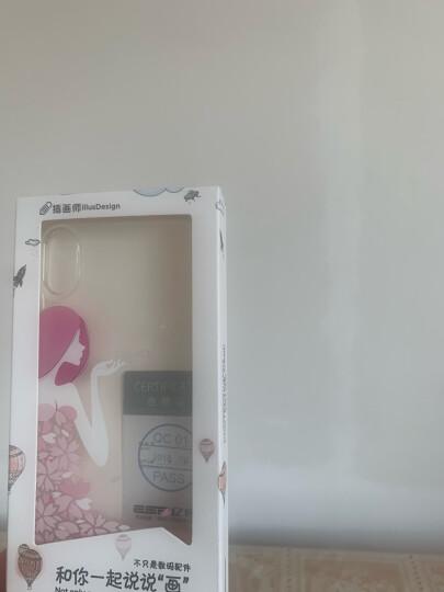 亿色(ESR)苹果x/xs手机壳iPhonex/xs保护套全包防摔透明硅胶软壳潮个性图案超薄女款 -花瓣女神 晒单图