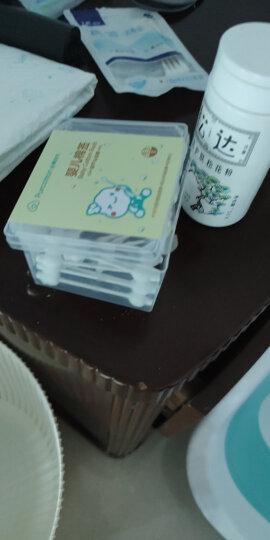全棉时代 棉签 婴儿棉签 棉棒纸棒 葫芦形双头  63支/盒*4 晒单图