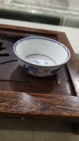 京德贵和祥手绘高温陶瓷个人杯品茗杯私家杯茶杯主人杯专用杯大杯 青花金鱼盏杯 晒单图