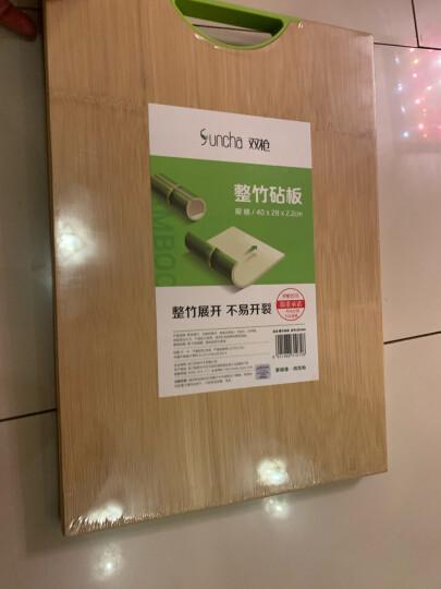 双枪(Suncha)天然整竹砧板加大号切菜板无漆无蜡面板案板 ZB1050(50*35*2.2cm)把手随机发货 晒单图