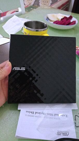 华硕(ASUS) 8倍速 USB2.0 外置DVD刻录机 移动光驱 银色(兼容苹果系统/SDRW-08U7M-U) 晒单图