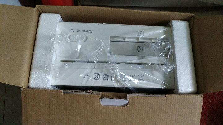 得力(deli)个人办公静音桌面碎纸机 4级保密多功能碎纸机文件粉碎机92614 晒单图