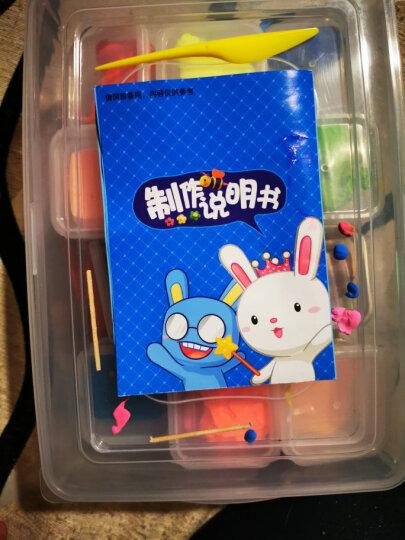 智高迪士尼苏菲亚公主彩泥粘土 36色橡皮泥 黏土沙套装 太空彩泥玩具 带塑料收纳箱儿童节礼物 晒单图