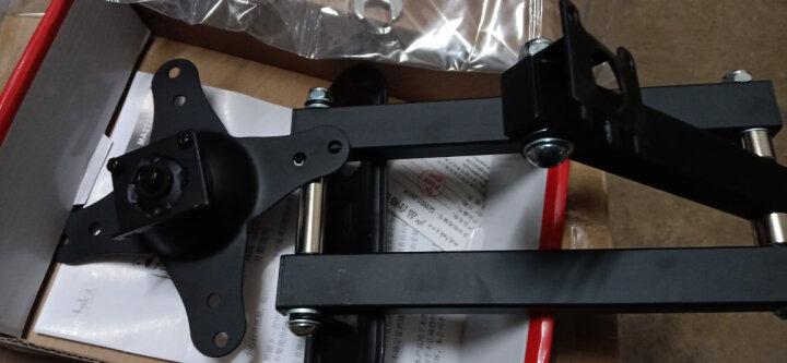 支尔成 MA2770(10-27英寸)显示器支架壁挂式电脑挂架 头部可横竖屏转换 通用电脑旋转支架 晒单图