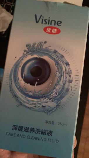 优能Visine洗眼液30ml 缓解眼疲劳 洗眼睛水 清洁眼部护理液 清洗眼部卸妆残留 晒单图