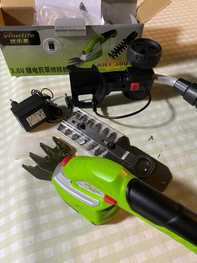 割草机电动锂电充电式割草机 剪草机 除草机 家用盆景修剪器 二合一割草机 晒单图