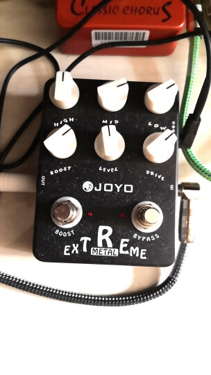 JOYO 卓乐电吉他单块效果器 金属失真模拟延迟效果器 多种效果 ETAL电吉他重金属失真效果器 晒单图