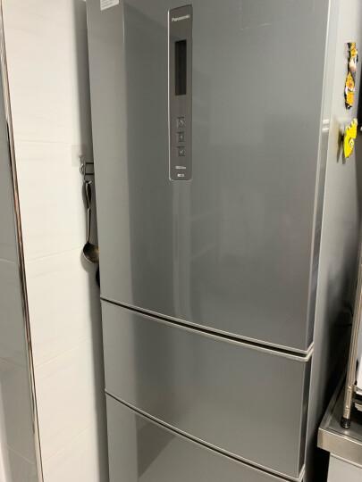松下(Panasonic)570升对开门冰箱双开门 磨砂金变频无霜风冷 双循环制冷系统 银离子抗菌NR-EW57SD1-N 晒单图
