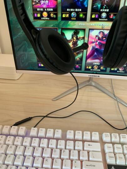 漫步者(EDIFIER)K800 头戴式游戏耳机 电脑耳机耳麦 绝地求生耳机 吃鸡耳机 办公教育 学习培训 黑色 晒单图