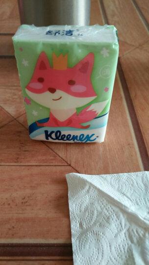 舒洁(Kleenex)手帕纸 小熊印花迷你纸巾40包装 晒单图