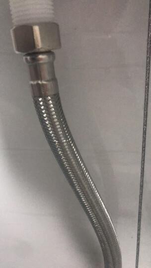 潜水艇(Submarine) F40 304#不锈钢上水软管 进水管/40cm/面盆马桶上水管 冷热通用 晒单图