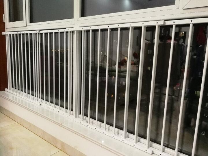 攸曼诚品(EUDEMON)儿童安全窗户防护栏 安全飘窗护栏 高层阳台保护栏 婴儿安全围栏免打孔栏杆 2片宽度91-157cm 晒单图