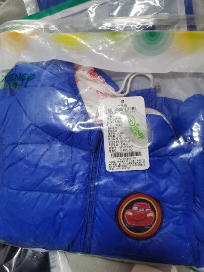 迪士尼(Disney)童装儿童羽绒马甲保暖男女童羽绒服上衣连帽 紫色 9个月/身高73cm 晒单图