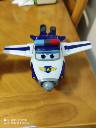 超级飞侠7玩具奥迪双钻(AULDEY)大号变形机器人乐迪小爱奥迪双钻大套装男孩女孩玩具儿童礼物 大号变形机器人-卡文710270 晒单图