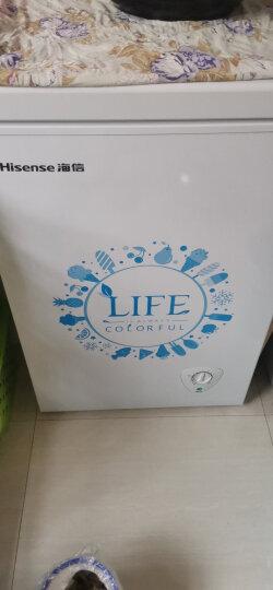 海信(Hisense)100升 冷藏冷冻转换冰柜 小型家用迷你冷柜 节能静音 单温母婴母乳小冰箱BD/BC-100N/A 晒单图