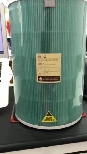 小米(MI)空气净化器pro/1代/2代/2s滤芯净化器滤网除甲醛除颗粒 米家车载空气净化器滤芯(除甲醛活性炭版) 晒单图