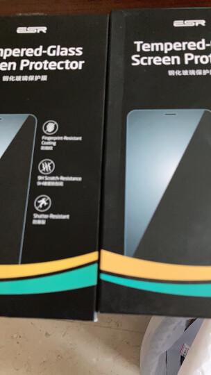 亿色(ESR) 新iPhoneSE2/8/7钢化膜 苹果SE2/8/7手机膜 全屏覆盖高清抗蓝光防爆防指纹防碎边玻璃贴膜-黑色 晒单图