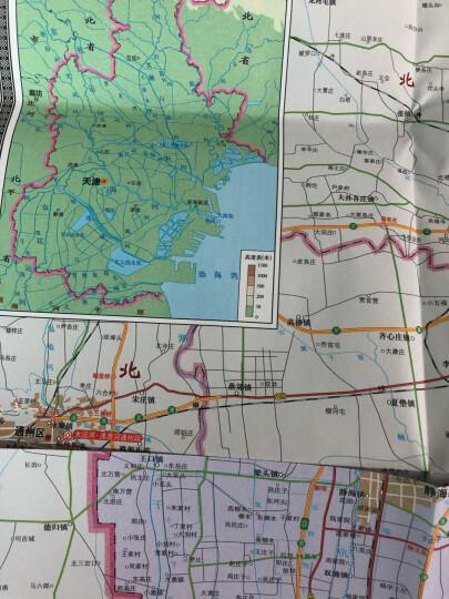 中华人民共和国分省系列地图:甘肃省地图(折叠盒装 新版) 晒单图