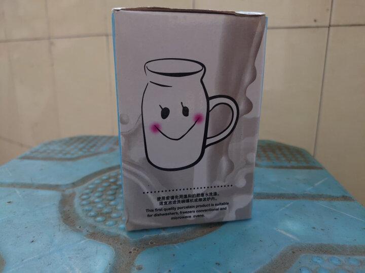 贝瑟斯 创意陶瓷杯子马克杯 云朵牛奶杯水杯 学生早餐杯 家用喝水杯 陶瓷水杯 可定制 晒单图