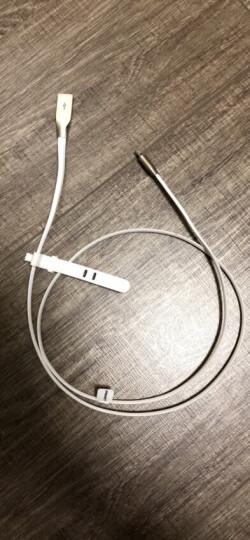 品胜(PISEN)锌合金苹果数据线 Xs Max/XR/X/8手机充电线 1米白色 适用于苹果5s/6/7/8Plus/ipad air/pro 晒单图