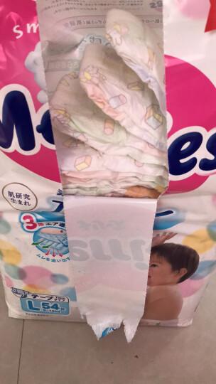 花王妙而舒Merries婴儿纸尿裤 S82片(4-8kg)小号婴儿尿不湿(日本进口) 晒单图