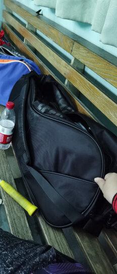 WITESS羽毛球拍包2只装 3只装 6只装双肩男女双肩运动专用 棕色羽毛球拍包 晒单图