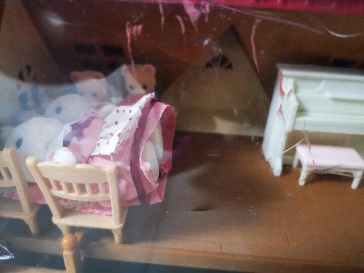 森贝儿家族儿童玩具女孩礼物过家家公主娃娃玩具公仔玩偶巧克力兔宝宝5602 晒单图