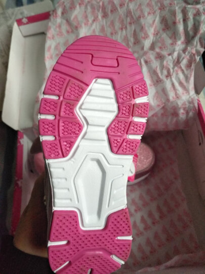 芭比 BARBIE 童鞋 女童运动鞋 儿童棉鞋 加绒休闲公主鞋 1764 金色 27 晒单图