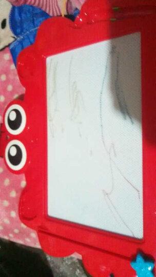 澳贝 大号小蟹艺术涂鸦小黑板磁性宝宝彩色写字板儿童画画板水笔白板早教益智玩具 下架待用 小蟹艺术涂鸦板464405DS 晒单图